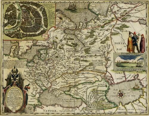Карта Федора Годунова 16 век