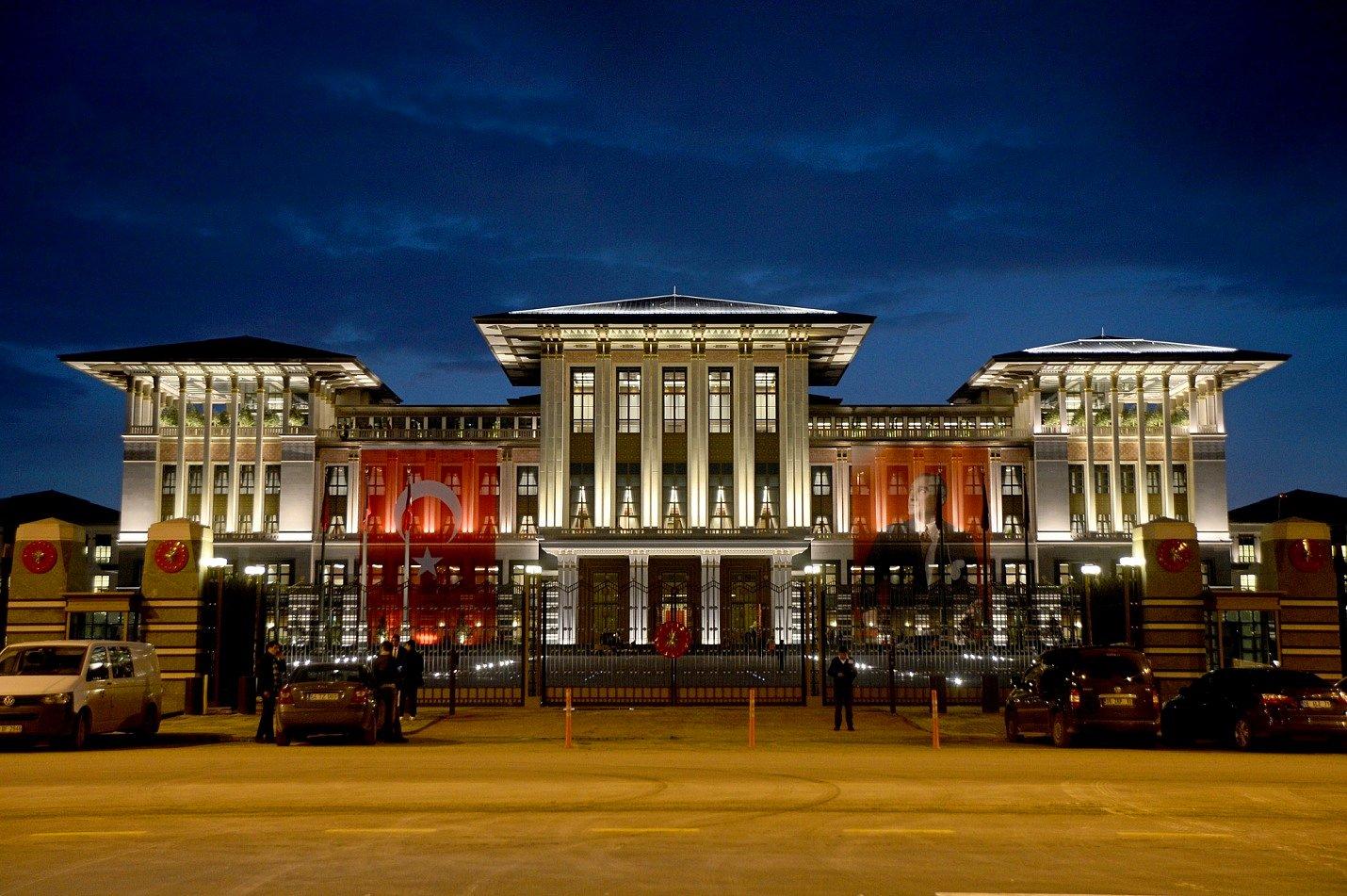Ак сарай - резиденция президента Турции