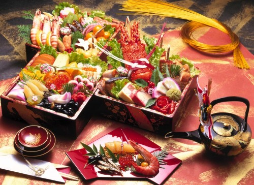 Япония-красная-рыба
