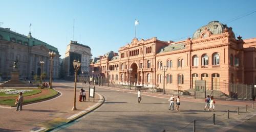 Резиденция президента Аргентины - Casa_Rosada