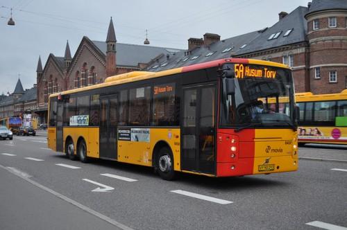 Общественный транспорт Дания