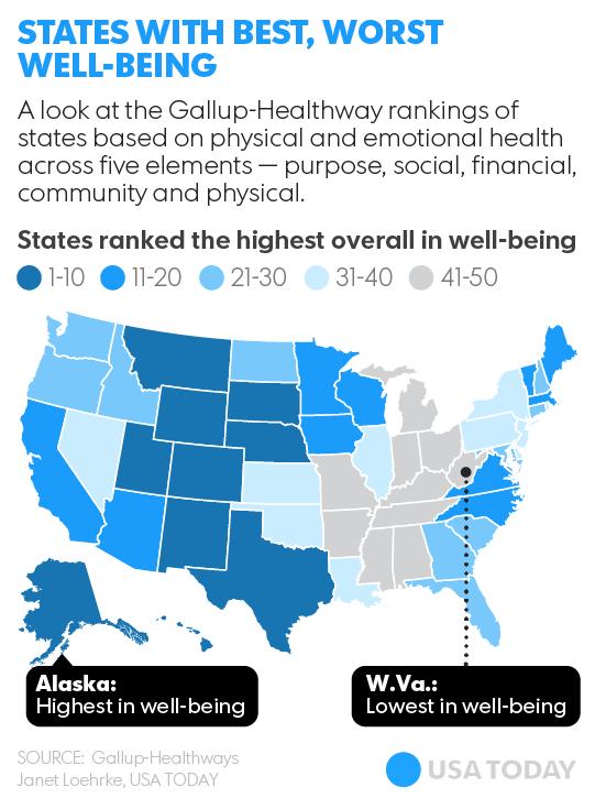 Счастливая карта США