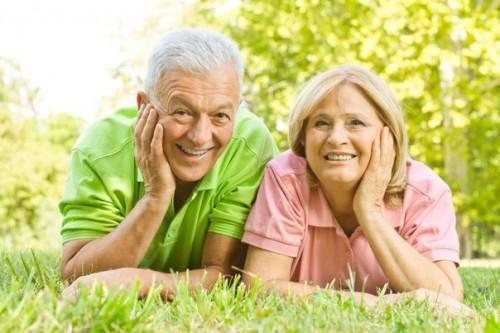 Счастье пожилых людей