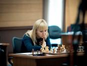 Курьез с шахматисткой Ушениной