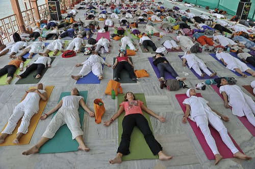 Йога бореться со стрессом