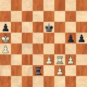 Шахматная партия Ушениной - Лебаг