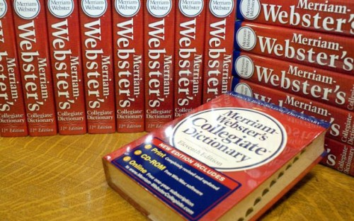 Merriam-Webster американский словарь