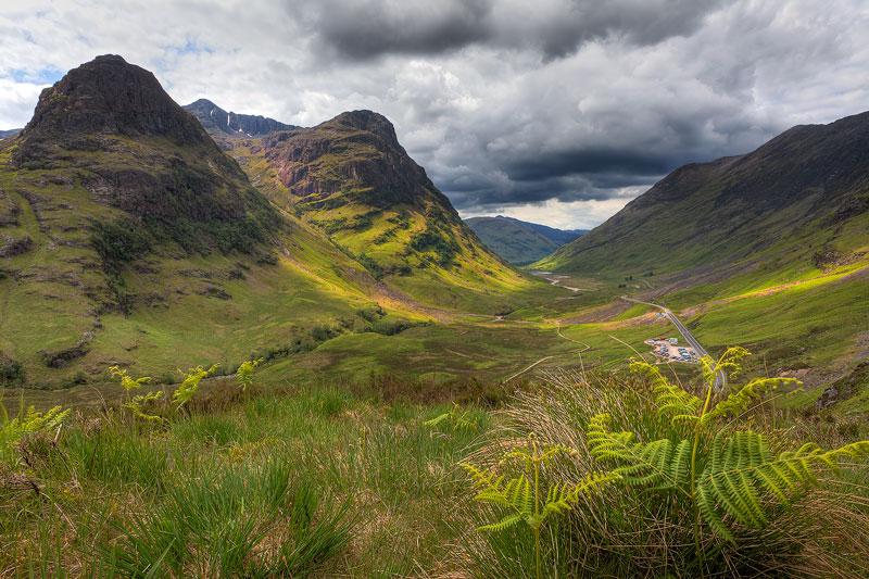 Шотландия Долина Гленко
