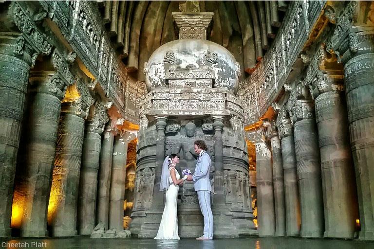 необычное свадебное турне