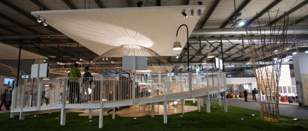 В Италии показали офис будущего, как место для жизни