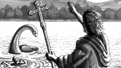 лохнесское чудовище борьба со святым