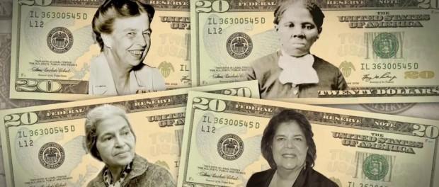Мужская гегемония на бумажных долларах может подойти к концу