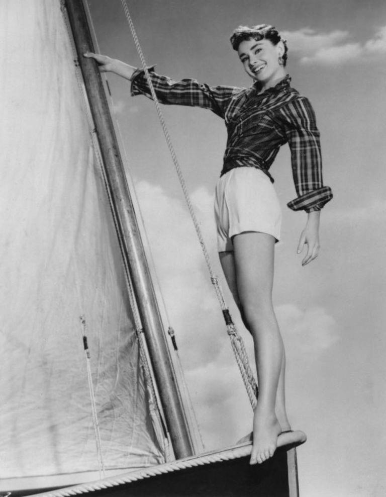 Audrey Hepburn film 'Sabrina Fair'