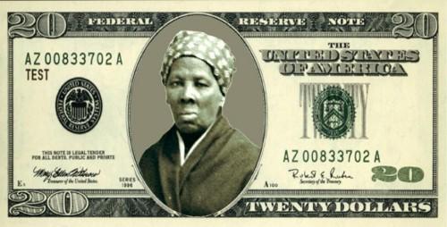 20 долларов - портрет Гарриет Табман