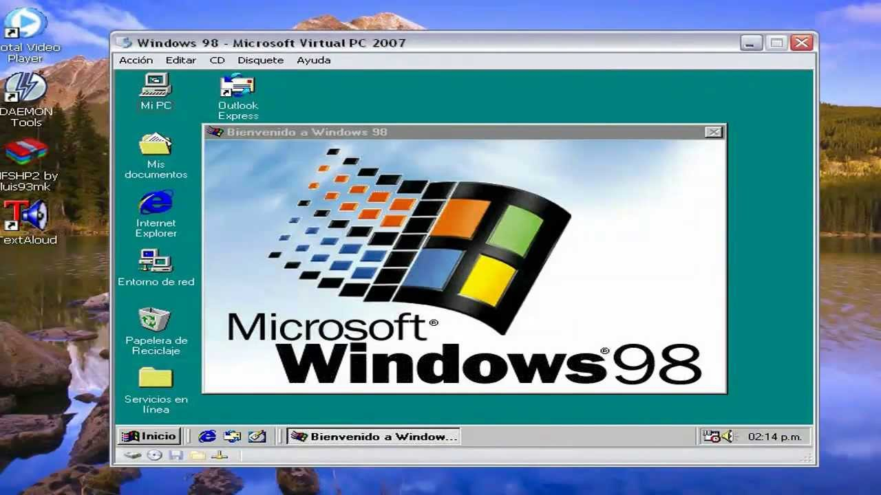 Windows 98se setup iso for Window 98 iso
