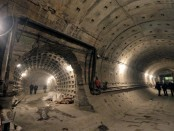двухпутный тоннель метро