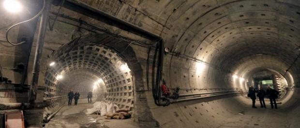 Первый двухутный тоннель в подземке проложили в Питере