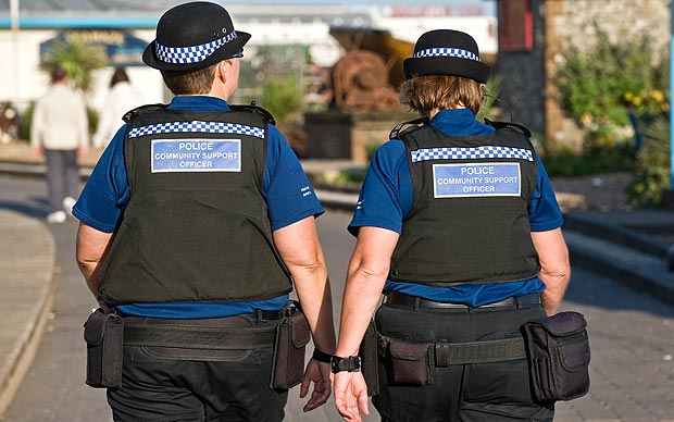 Британские толстяки в полиции