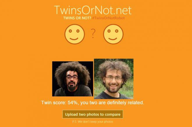 TwinsOrNot.net - новый сервис от Майрософт