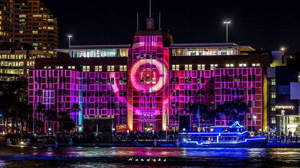открылся фестиваль света Vivid Sydney