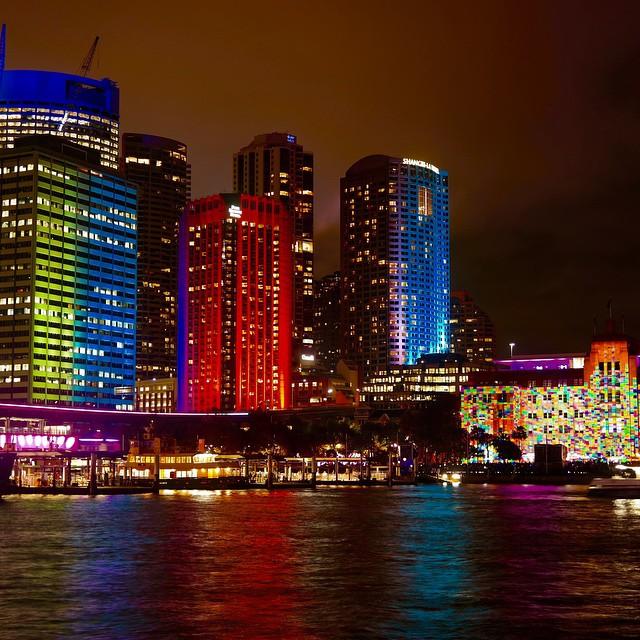 фестиваль света Vivid Sydney 2015