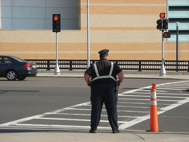 Толстый полицейский из США