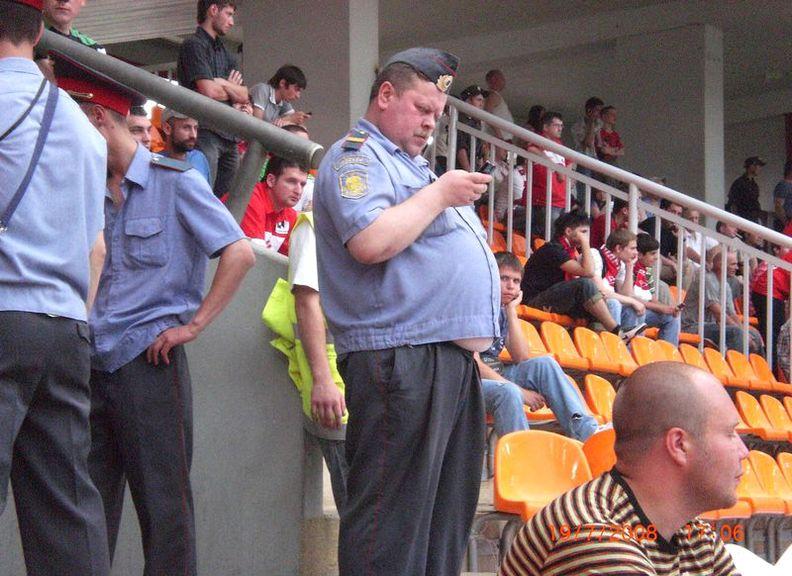 Толстяки в российской полиции