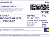 билет обменял на псевдоним