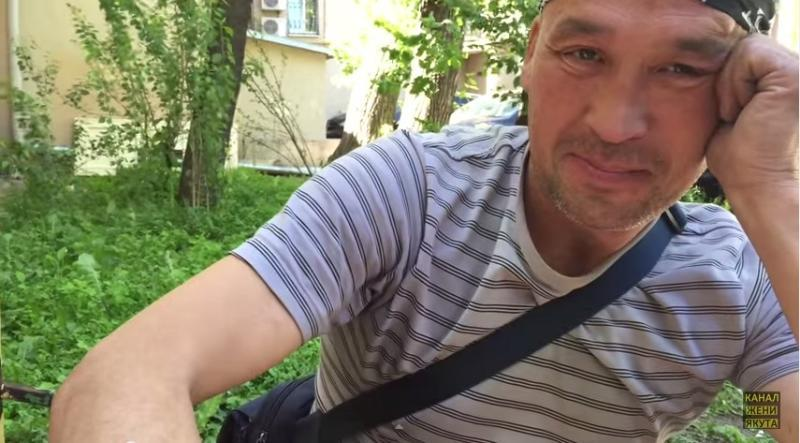 Бомж создал свой видеоканал