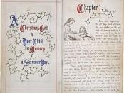 Рукопись Алисы в стране чудес