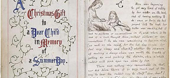 Британцы выложили в сеть оригинальную рукопись «Алисы в стране чудес»