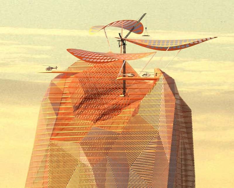 аркологическое сооружение в Сахаре
