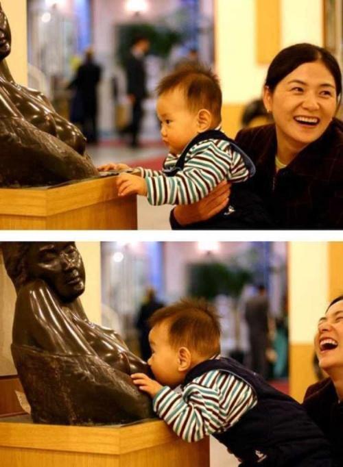 позитивное фото скульптуры и реебкна