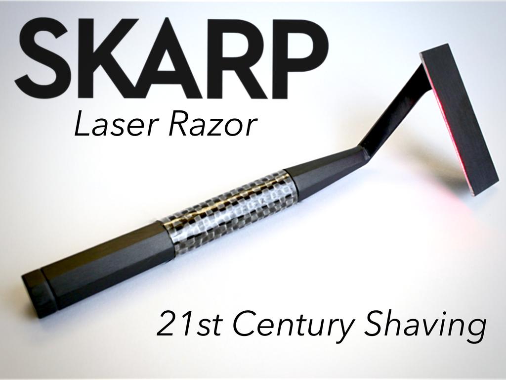 Лазерная бритва 21 века