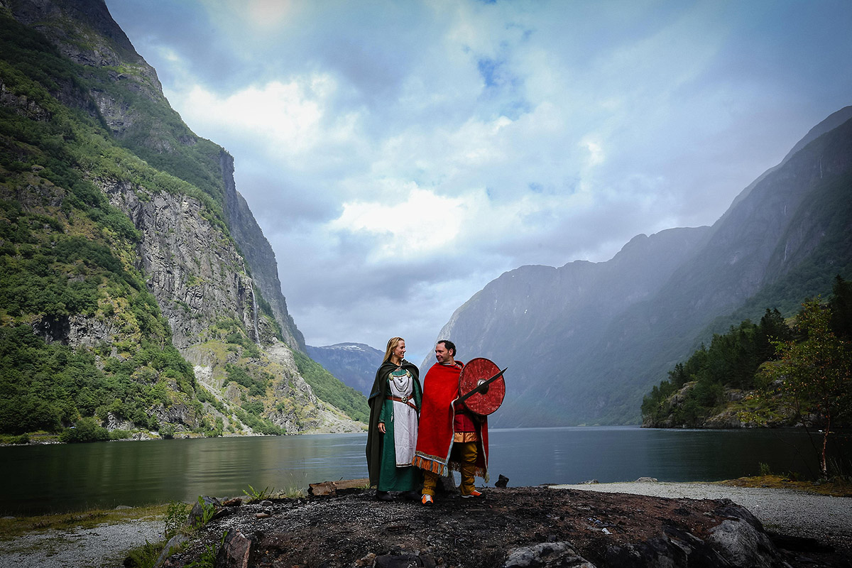 Свадьба в стиле викингов