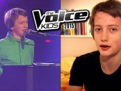 супер выступление молодого парня на Голос дети в Германии