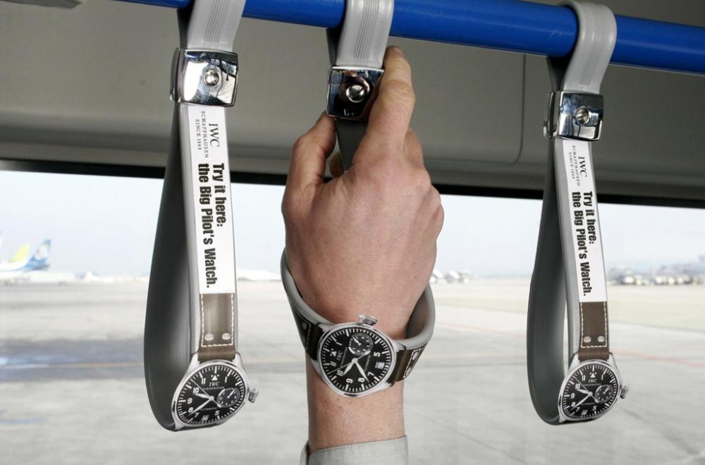 Пример классного рекламного хода от часовщиков