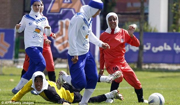 женский футбол в Иране