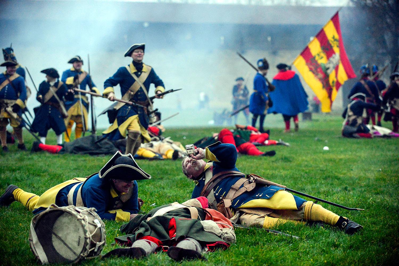 Битва при Нарве спустя 300 лет