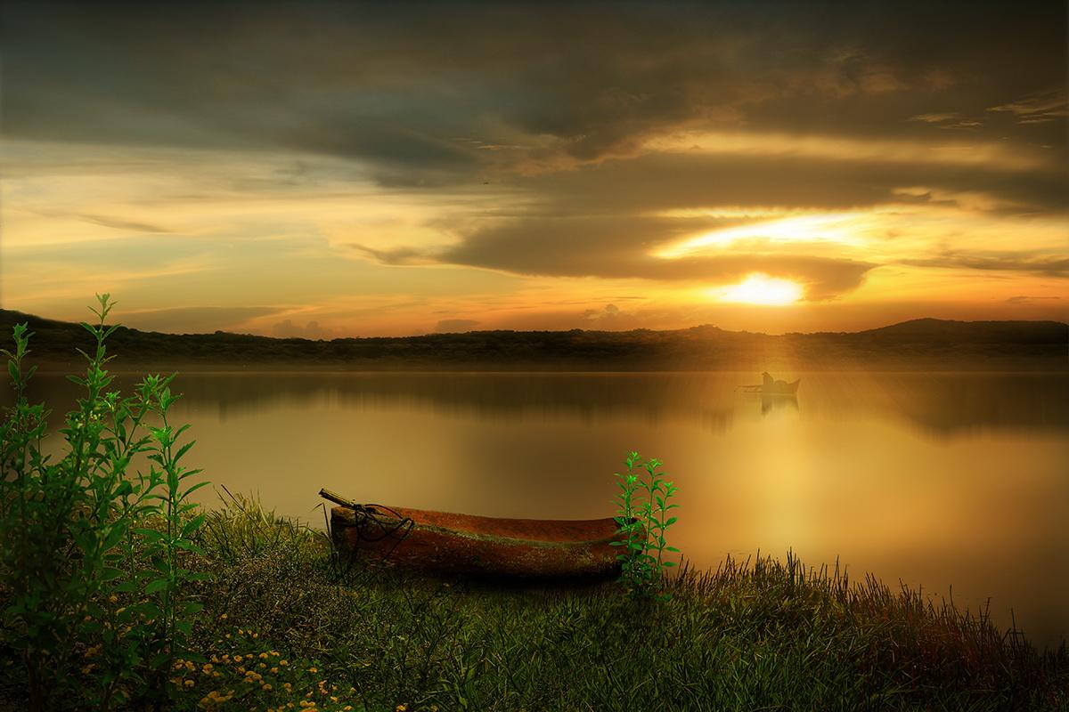 красота на воде