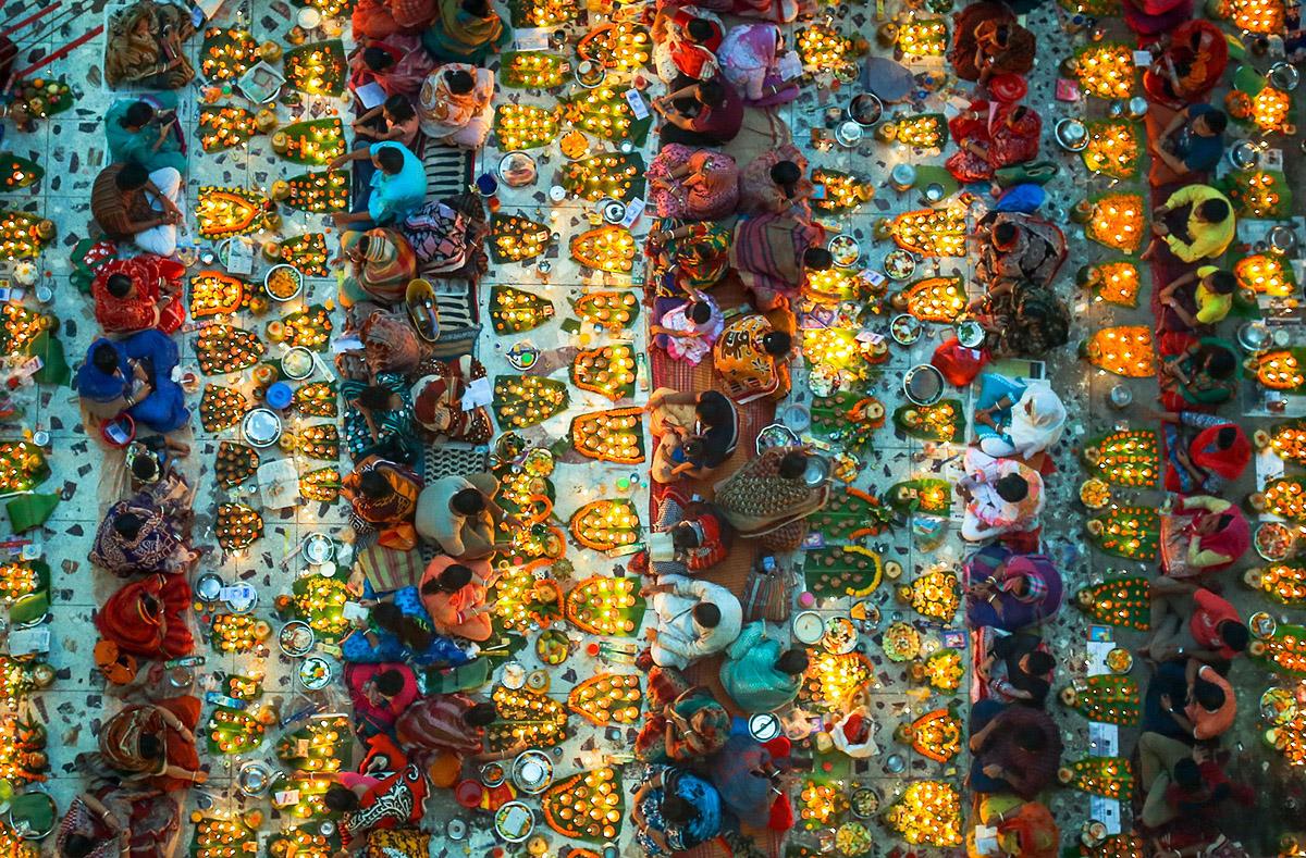 Праздник огней в Бангладеш