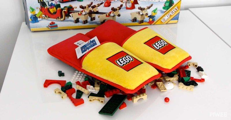 Новые тапочки Лего