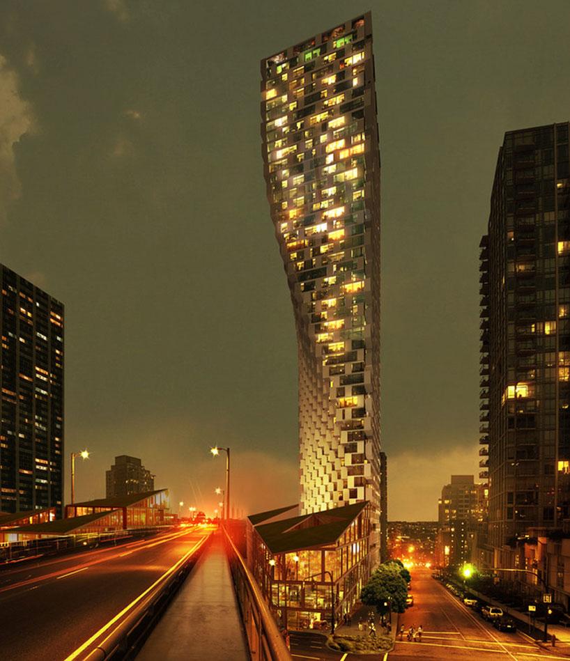 Здание будущего в Канаде