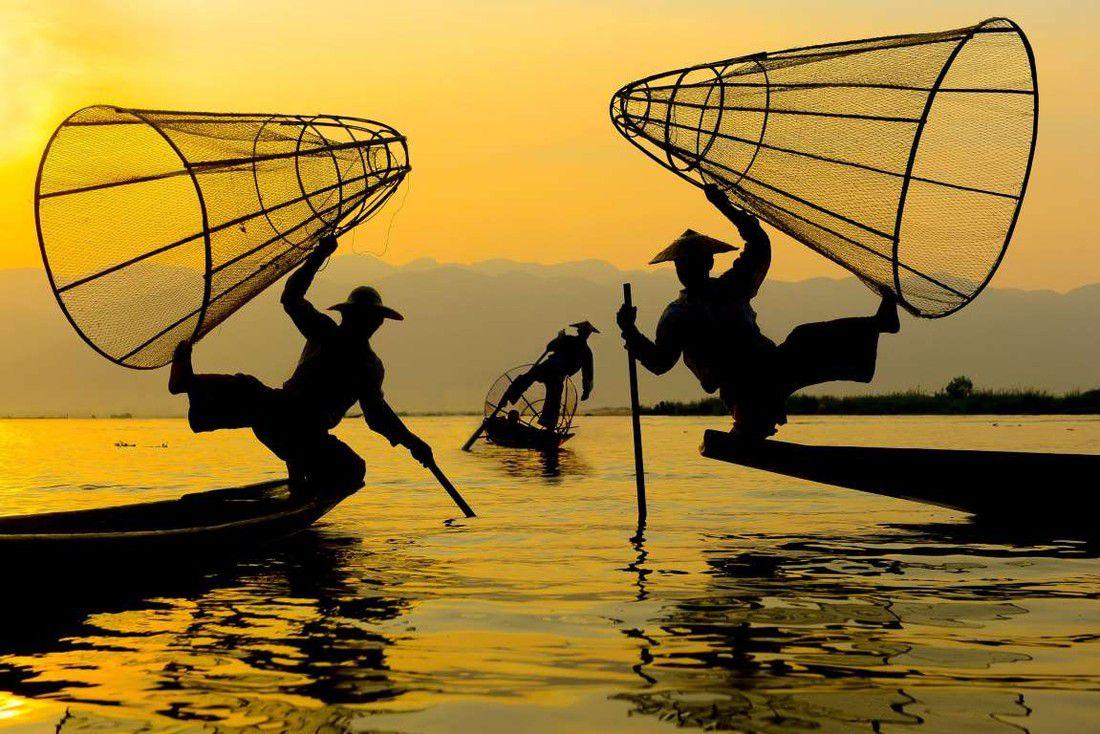 Акробаты на воде