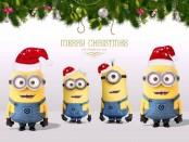 миньоны песенка рождественская