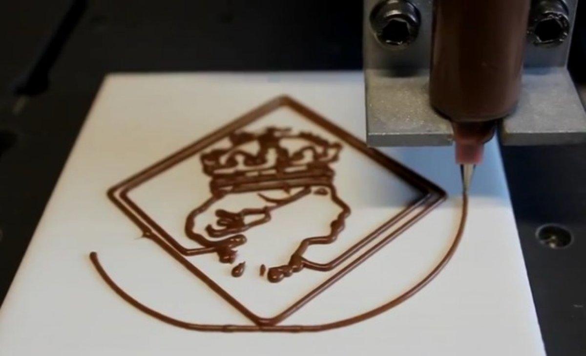 шоколадная печать уже релаьность