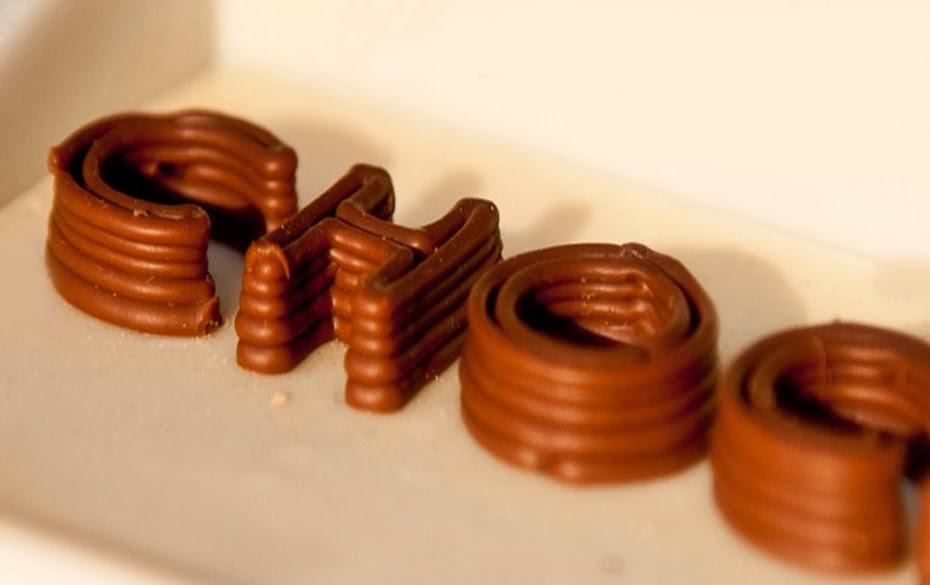 принтер печать шоколад3