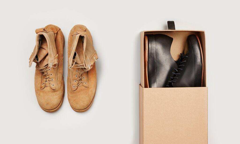Обувь Feit для бездомных