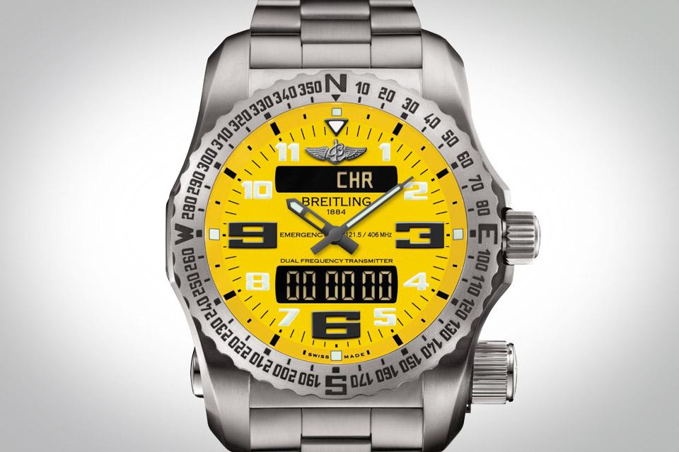 часы с двухчастотным радиолокационным маяком Emergency II