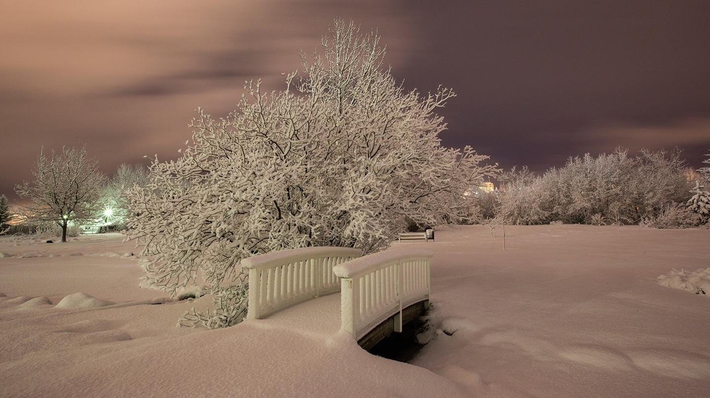 снежная лавина укрыла Исландию
